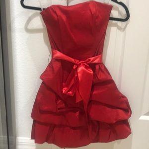 Jessica McClintock Red Dress